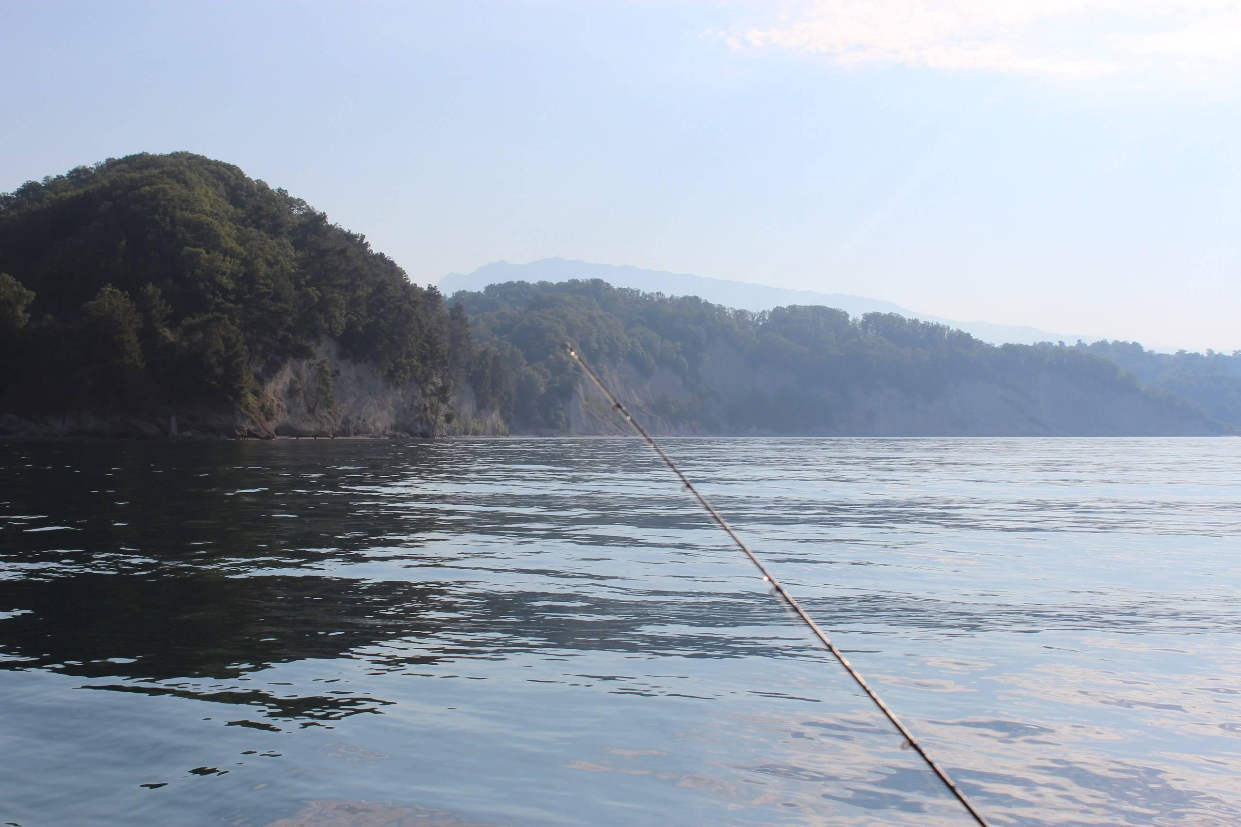 Рыбалка в море абхазия