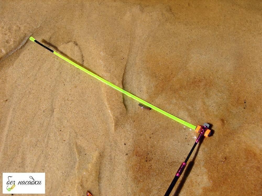 Как ловить карася на летнюю удочку с боковым кивком