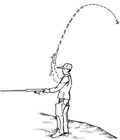 Как правильно забрасывать спиннинг: техника с безинерционкой