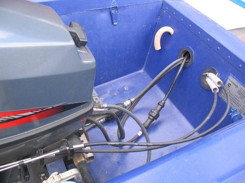 Дистанционное управление лодочным мотором своими руками — lodkavmore