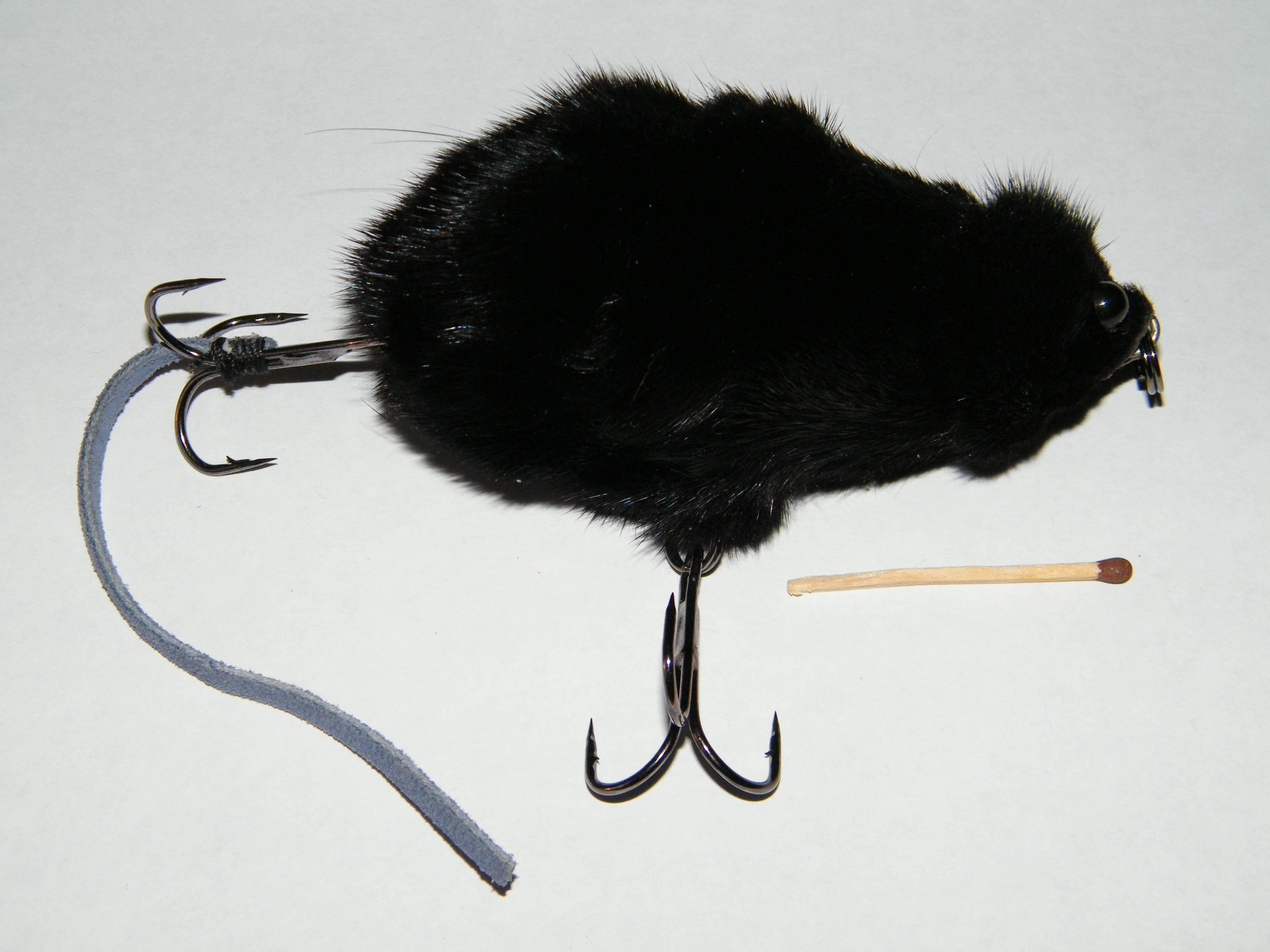 Мышь – эффективная насадка на тайменя – рыбалке.нет