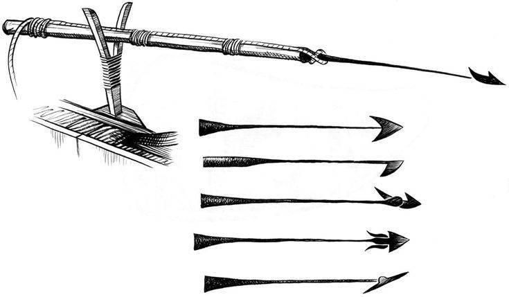 Гарпун для подводной охоты и китобойного арбалета, как сделать своими руками, самодельные наконечники для ловли рыбы, история появления