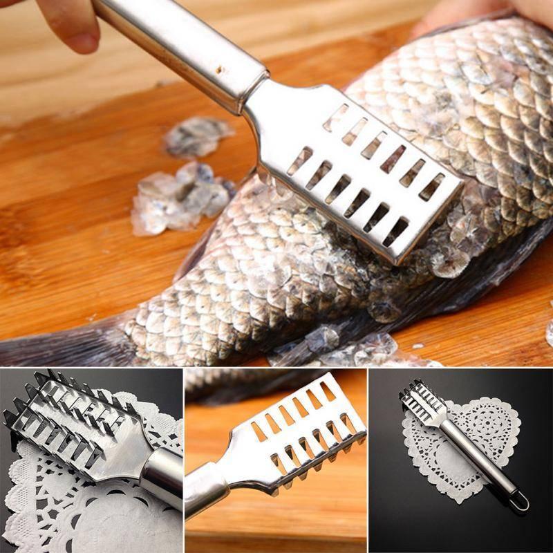 Узнаем как быстро почистить рыбу от чешуи? нож для чистки рыбы
