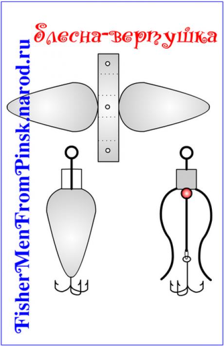 Как сделать переднеогруженную вертушку