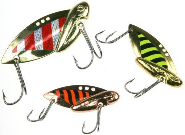 Блейдбейт (bladebait) - блесна цикада, техника ловли, изготовление своими руками