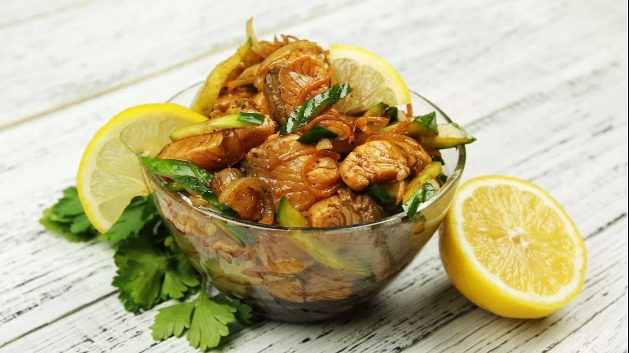 Хе из рыбы с морковью - пошаговый рецепт, варианты приготовления