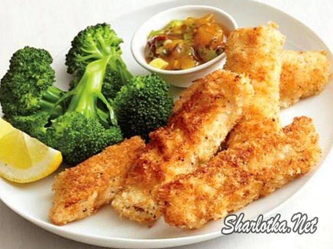 Рыбные палочки – кулинарный рецепт