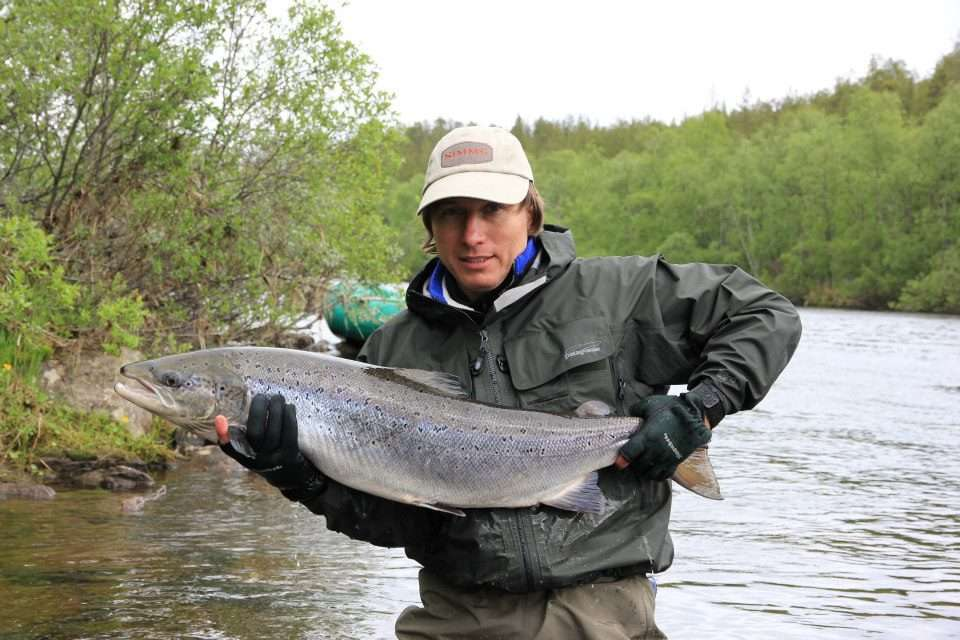 Озерная рыбалка