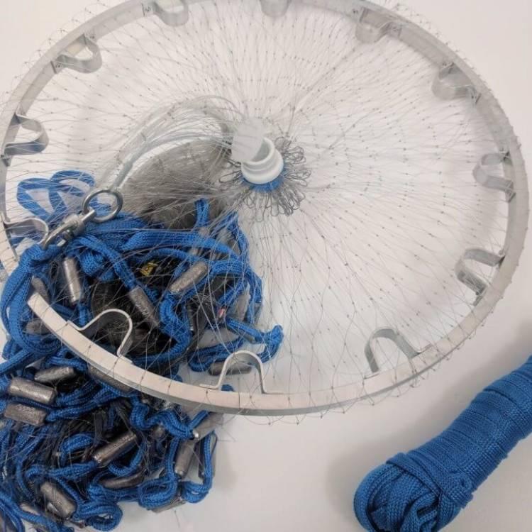 Кастинговая сеть с малым кольцом. техника заброса кастинговой сети. кастинговая сеть с кольцом - техника заброса