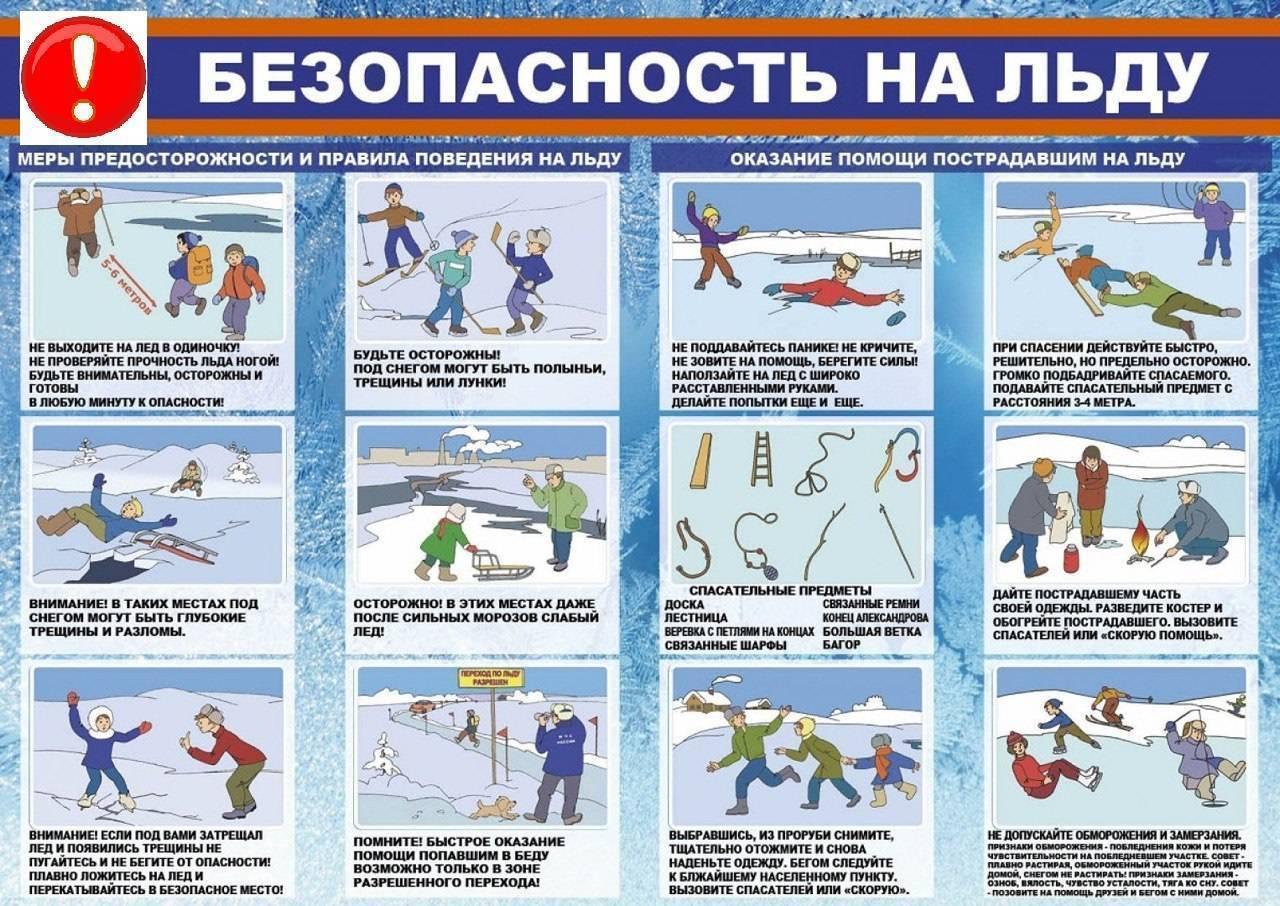 Безопасность на зимней рыбалке - рыбалка в санкт-петербурге и ленинградской области