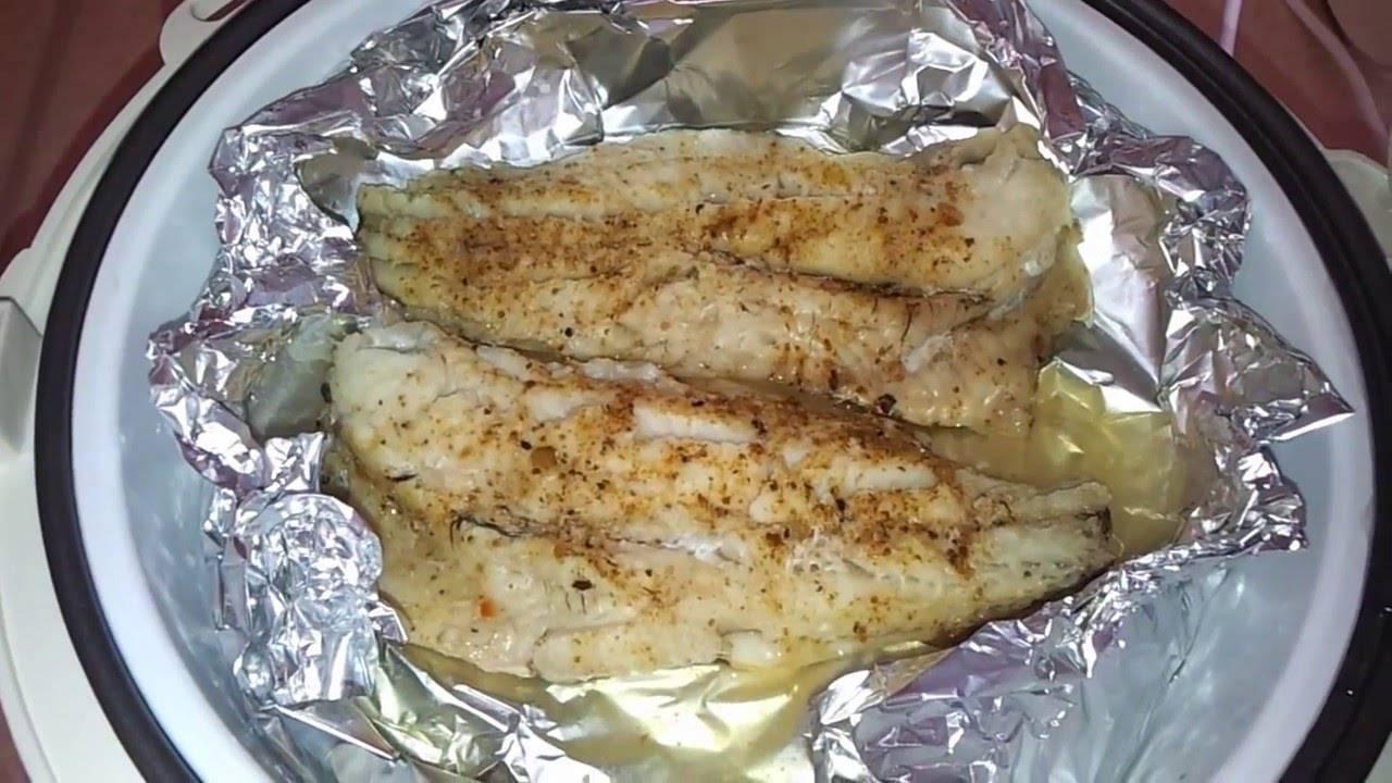 Блюда из рыбы в пароварке - рецепты