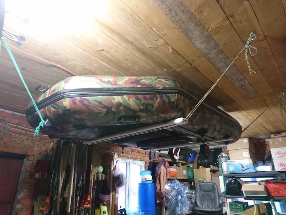 Как хранить лодку пвх зимой в холодном гараже - правильное хранение лодки пвх зимой