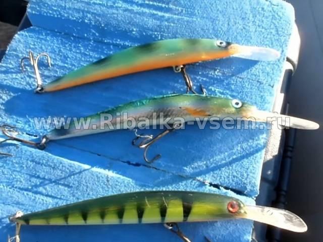 Воблеры на сома на троллинг - про рыбалку
