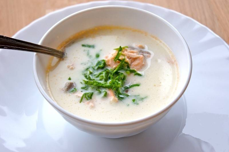 Финский сливочный рыбный суп – кулинарный рецепт