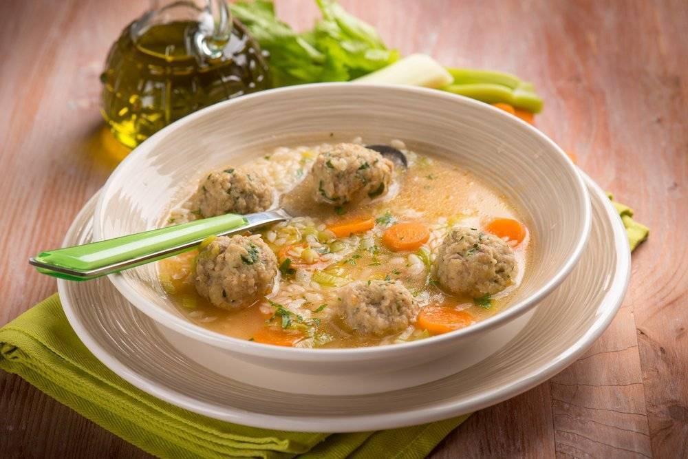 Суп с фрикадельками (8 рецептов с фото) - рецепты с фотографиями на поварёнок.ру