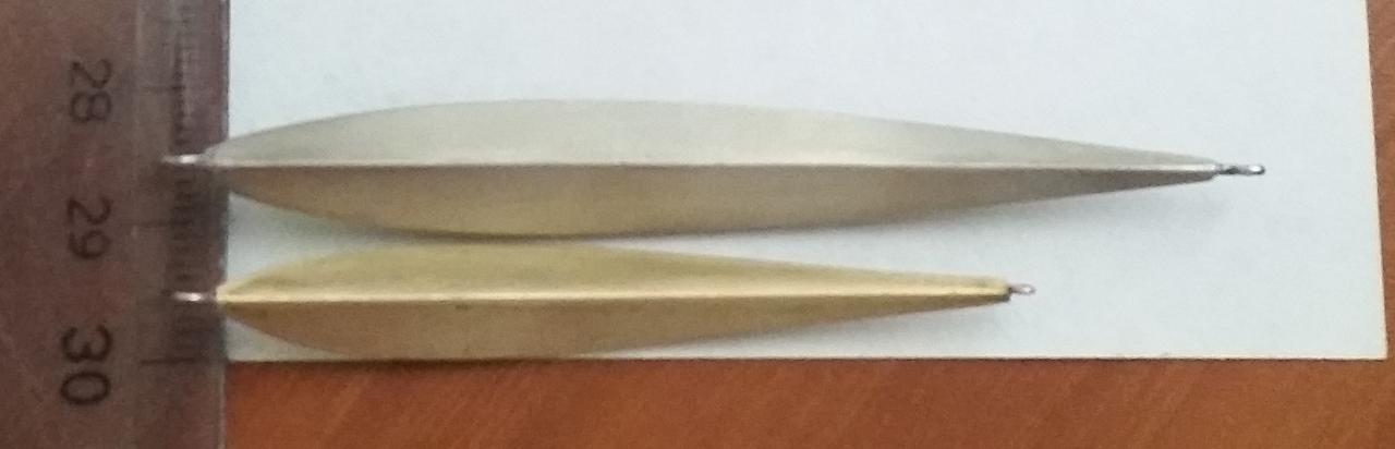 Чертеж-схема для изготовления блесны Матвейчикова