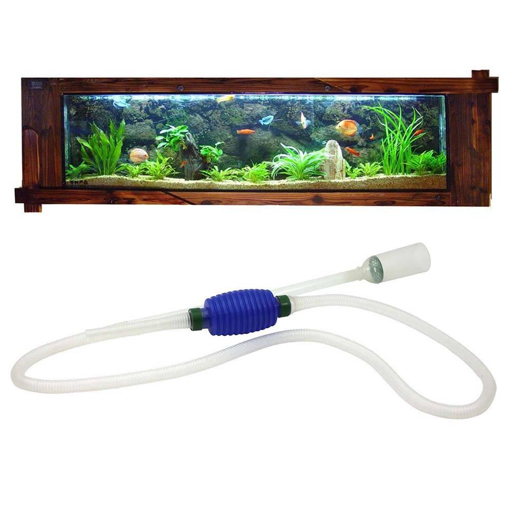 Сифон, как способ пропылесосить грунт аквариума