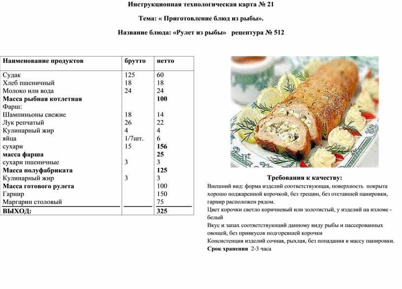 Судак по польски: (классический рецепт под польским соусом)