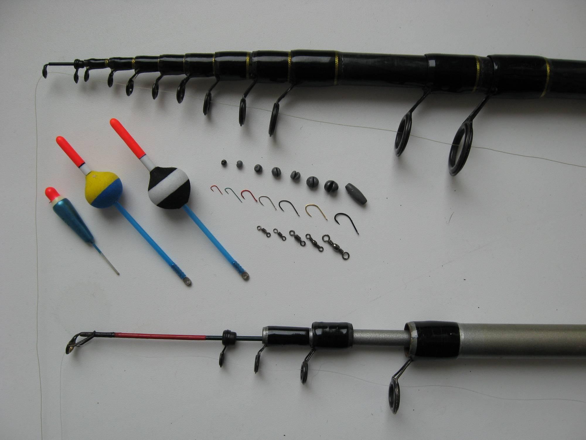 Виды удочек для рыбалки