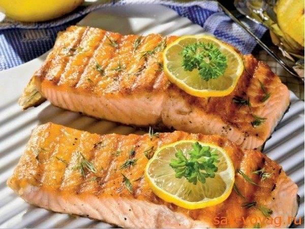 Шашлыки из лосося