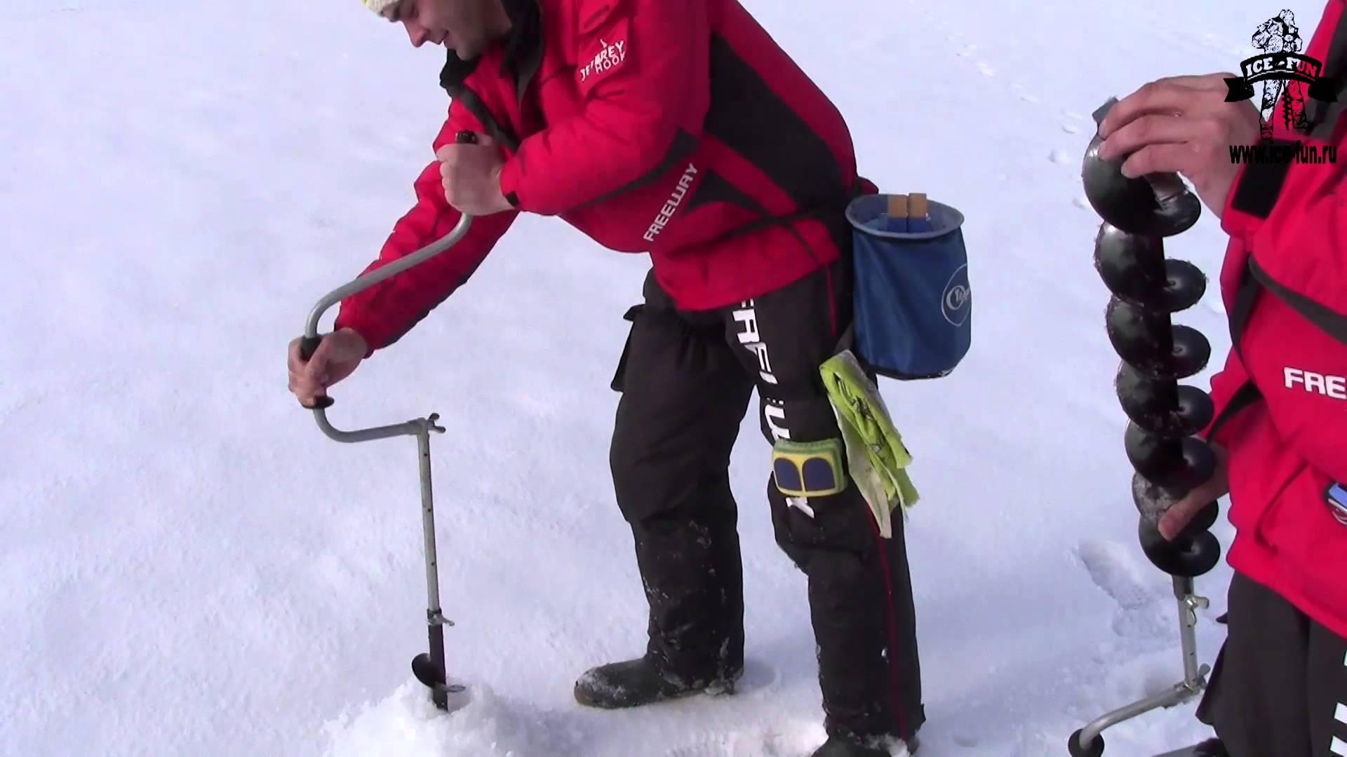 Как сделать правильный выбор бура для зимней рыбалки