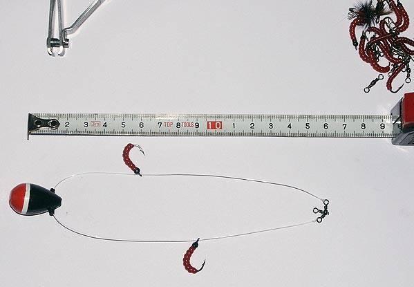 Ловля окуня на балду зимой, снасть балда на окуня + видео