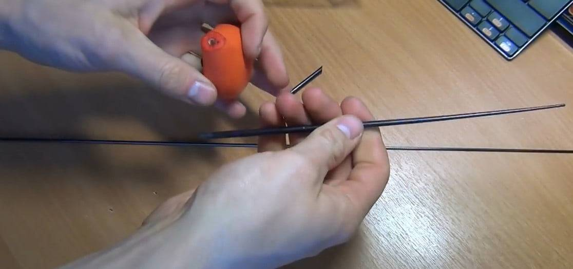 Кивок для зимней удочки (хлопушка, сопля), как сделать своими руками