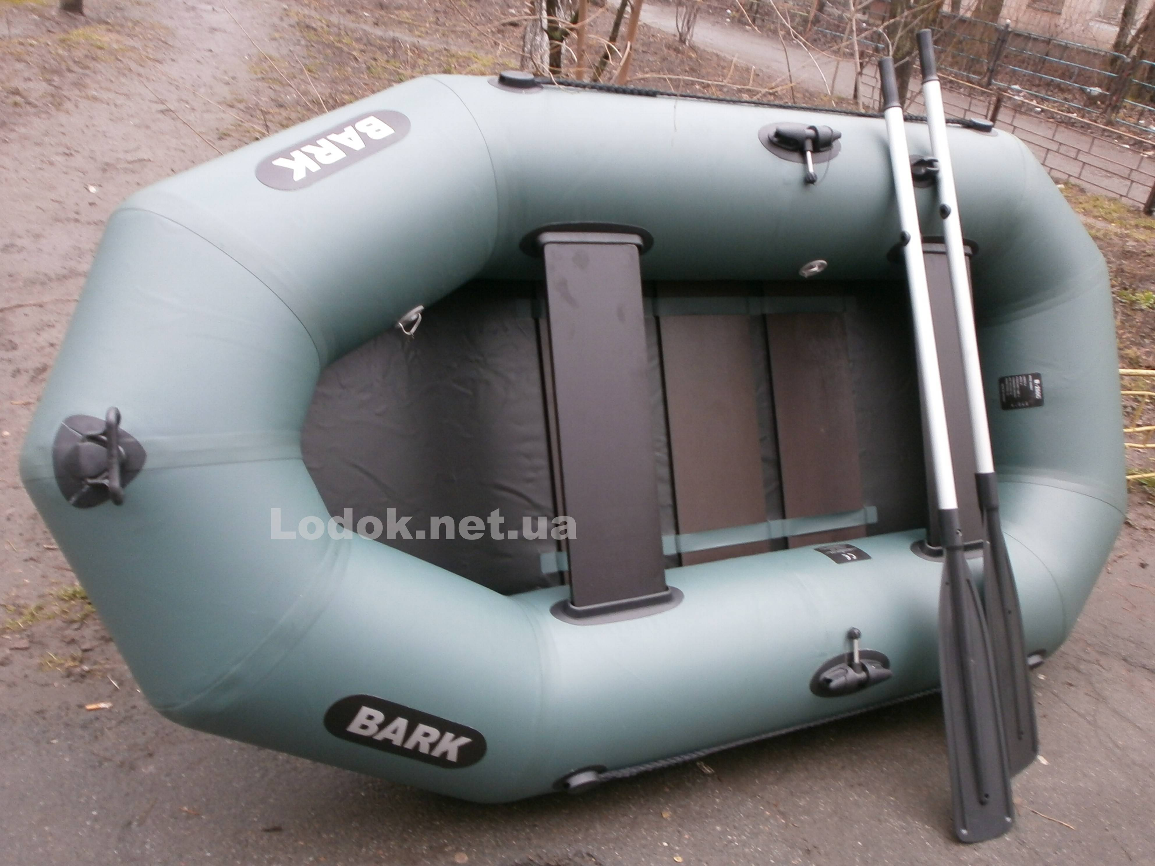 Лодка Барк: устройство и подготовка к использованию