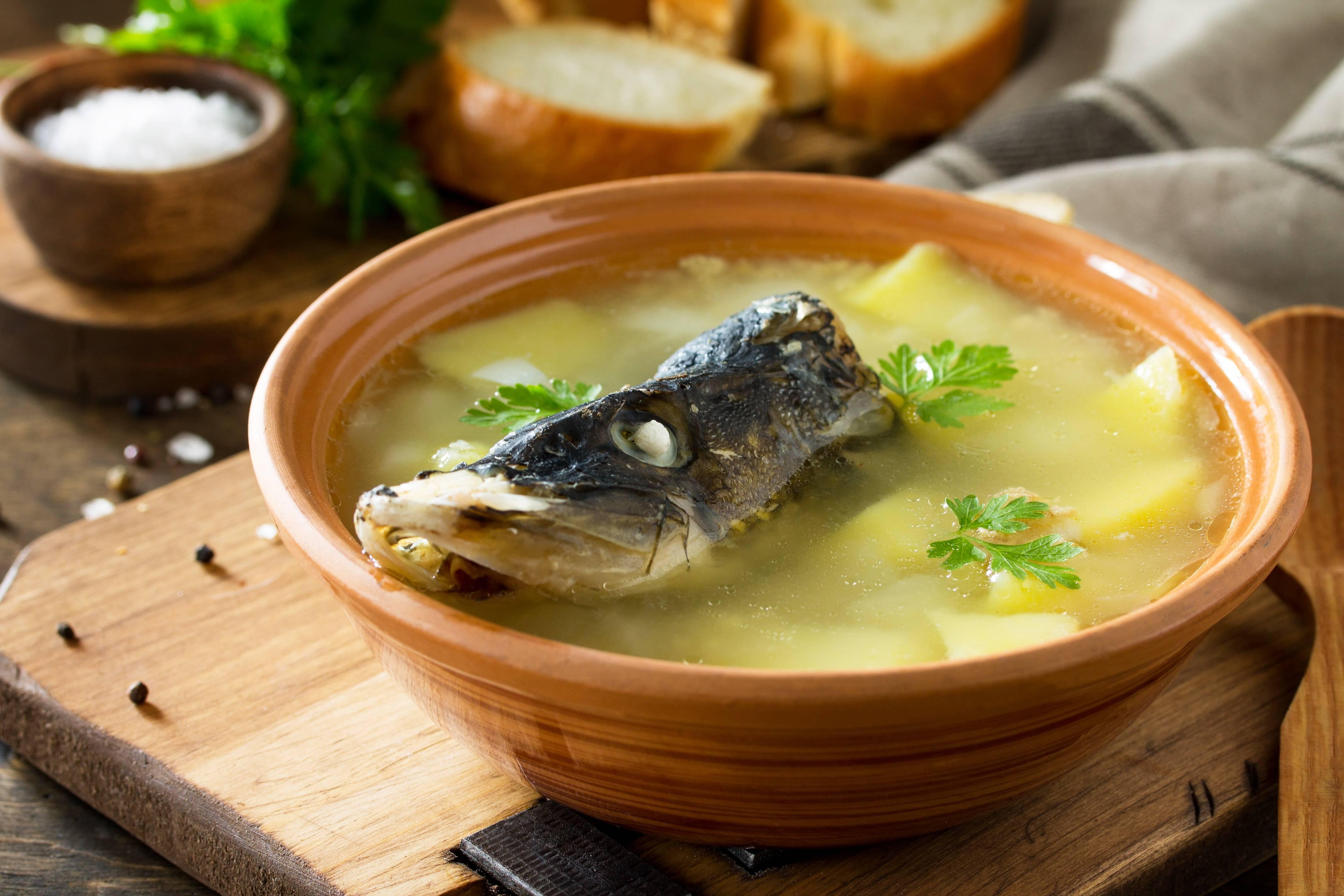 Уха - классический рецепт с фото пошагово