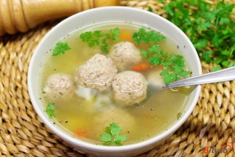 Суп с куриными фрикадельками – кулинарный рецепт