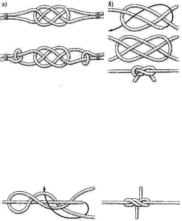 Как вязать якорный узел