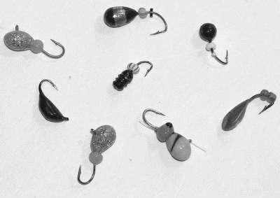 Техника ловли на безнасадочные мормышки для зимней рыбалки