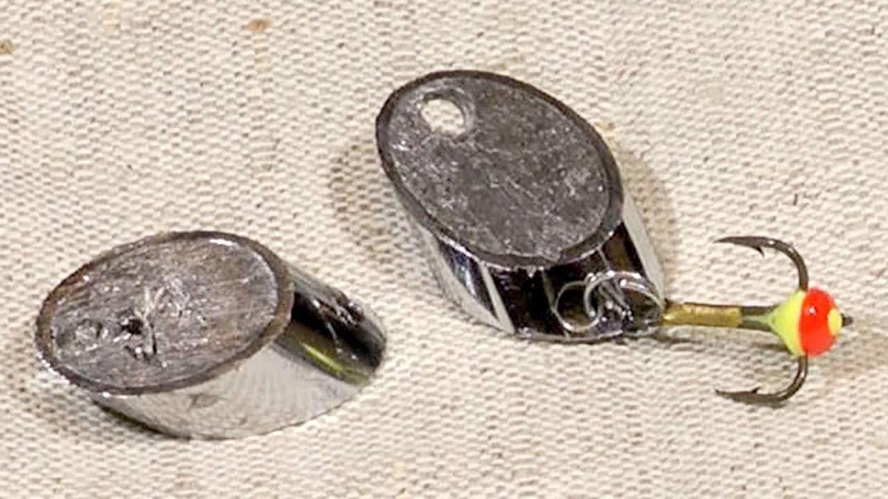 Самодельные колебалки – дешевые и уловистые приманки