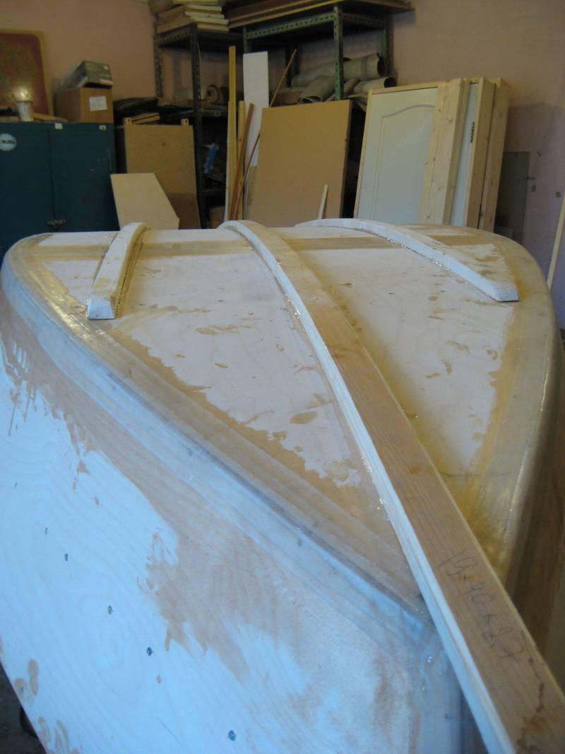 Лодка из одного листа фанеры