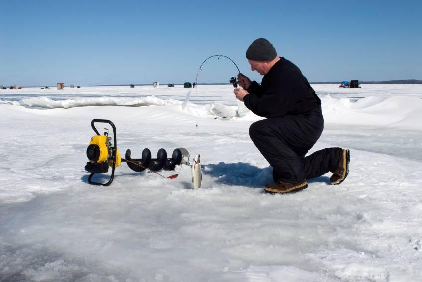 Текст книги «техника ловли из-подо льда, или как поймать крупную рыбу зимой»
