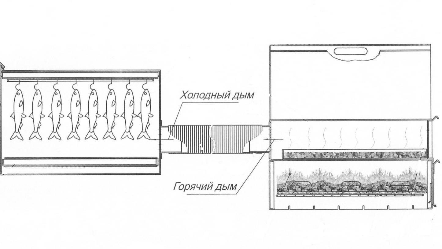Холодное копчение проверенным методом в домашних условиях