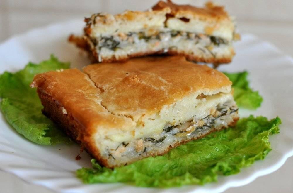 Заливной пирог с рыбными консервами: 8 рецептов  