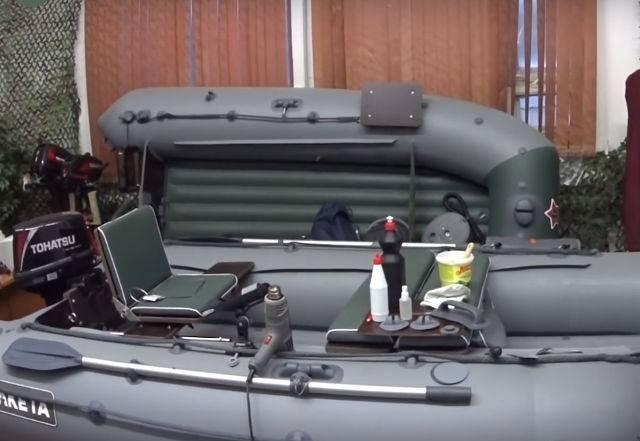 Как заклеить лодку пвх