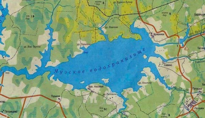 Яузское водохранилище троллинг - рыбалка