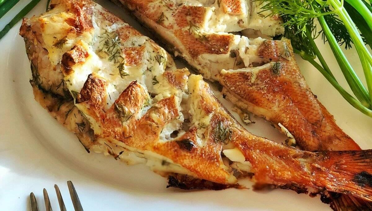 Как приготовить морского окуня вкусно на сковороде