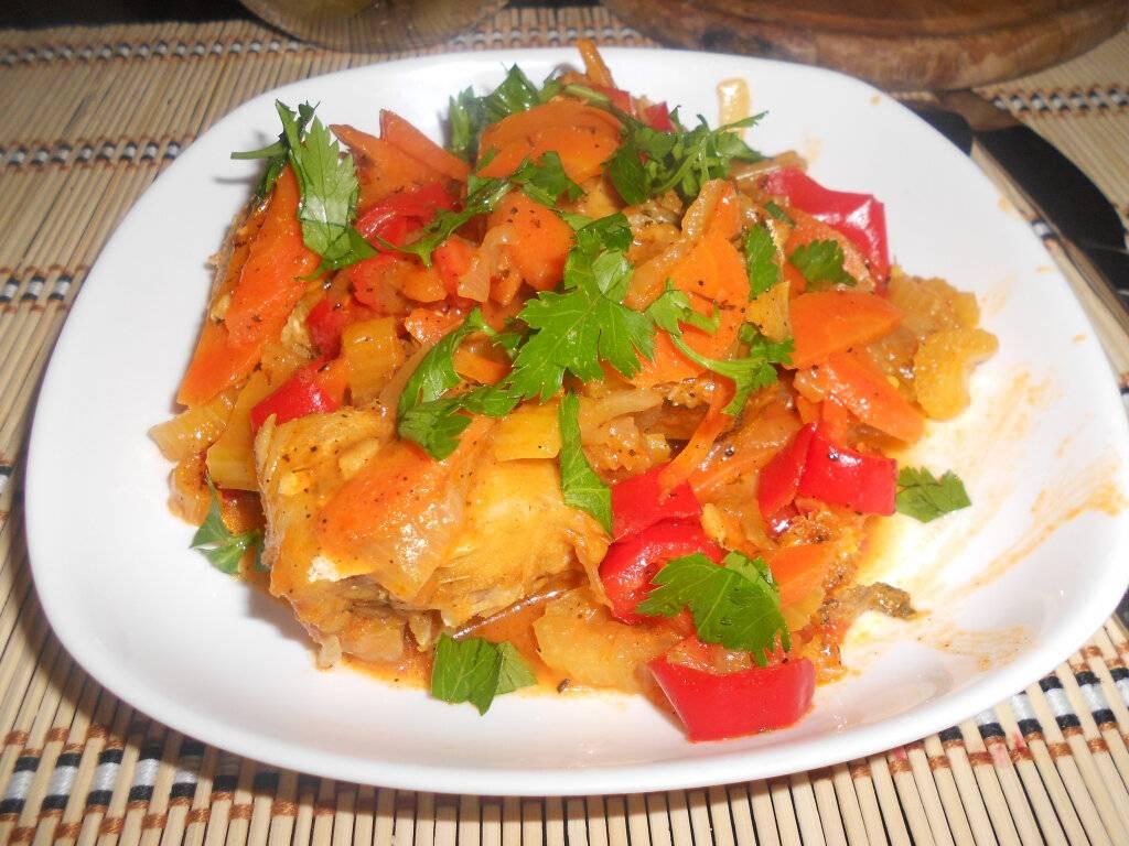 Рыба с морковью и луком - лучшие пошаговые рецепты приготовления в домашних условиях с фото