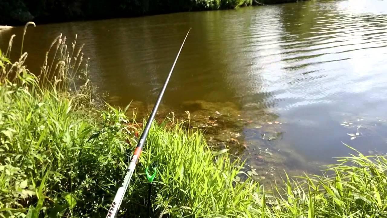 Рыбалка в половодье на реке весной
