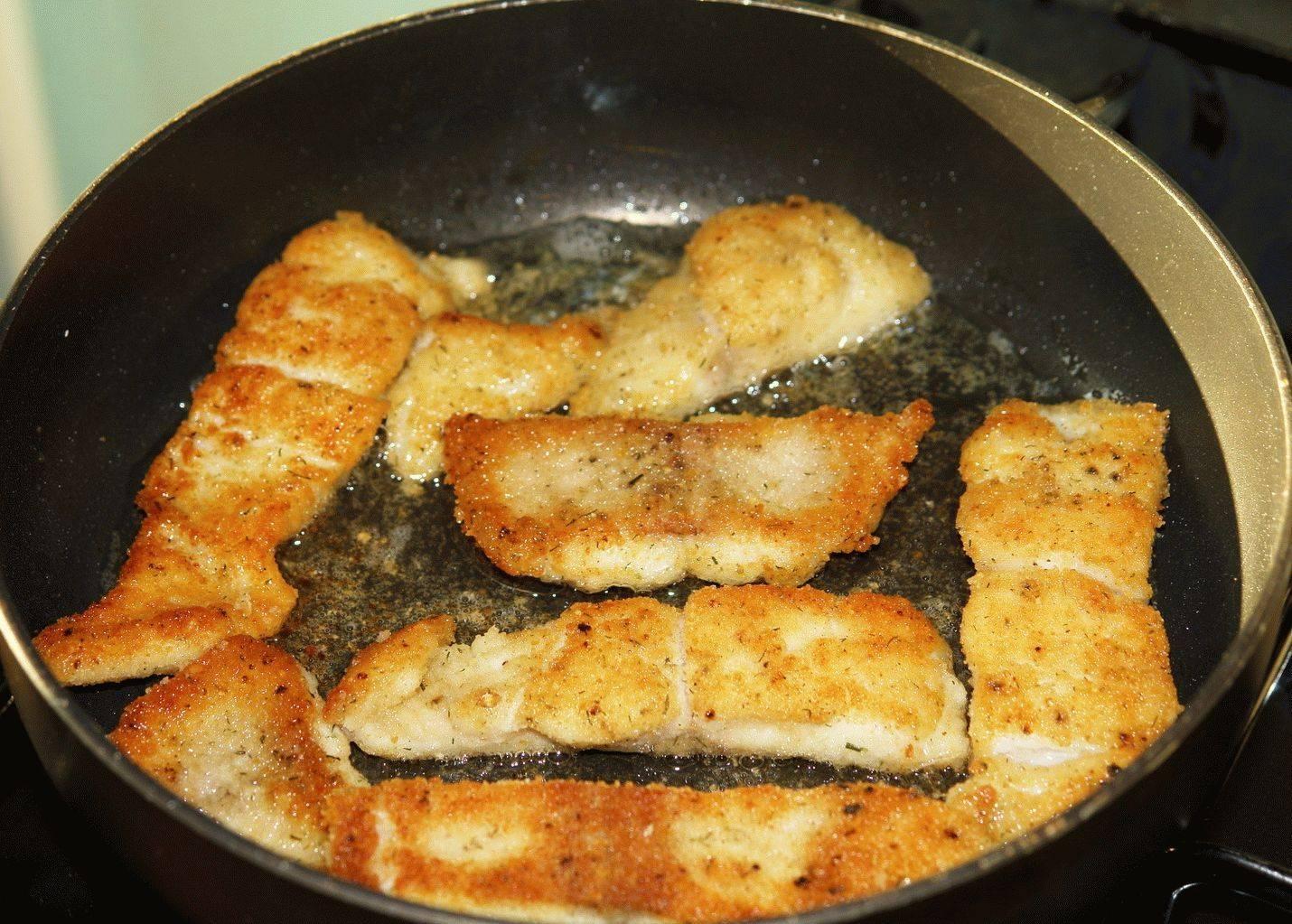 Как пожарить рыбу в кляре