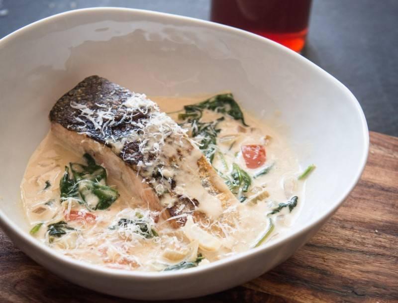 Сливочный соус к рыбе | меню недели