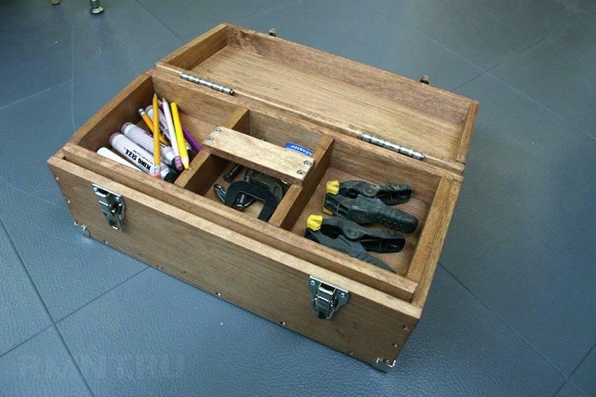 ? ящик для инструментов своими руками: виды, преимущества, чертежи