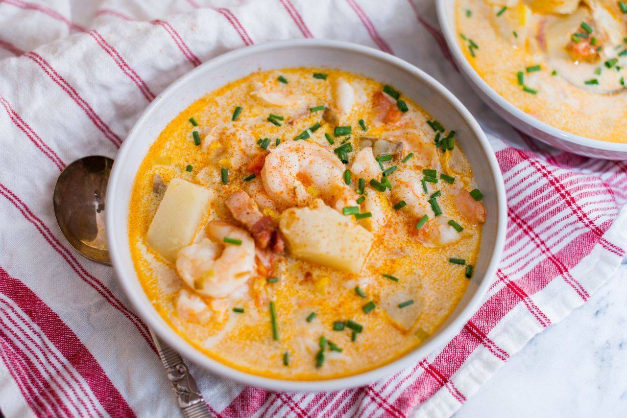 Суп из семги