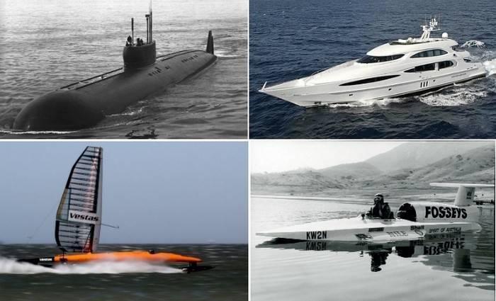 """Самые быстрые корабли в мире (военные, парусные и не только) — журнал """"рутвет"""""""