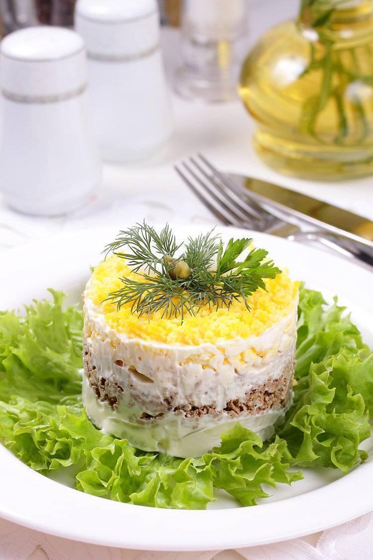 Классический салат мимоза – 9 пошаговых рецептов