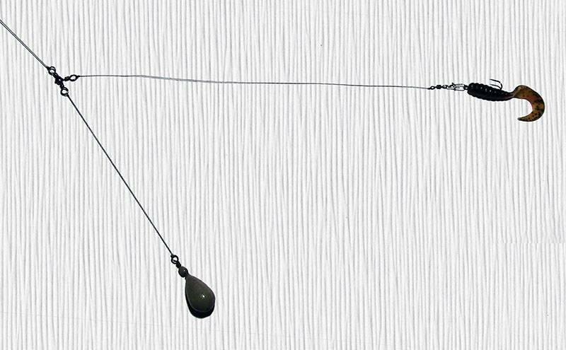 Отводной поводок на судака монтаж своими руками и их виды