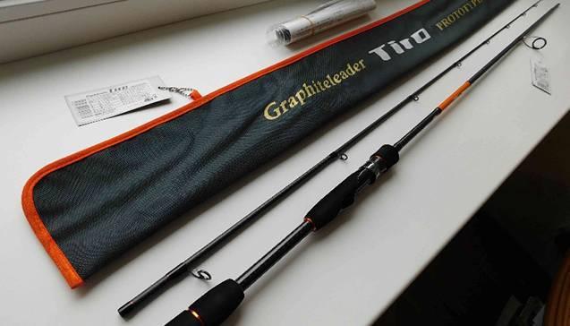 Обзор спиннинга graphiteleader aspro 792h - статьи о рыбалке